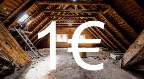 LES OFFRES DE RENOVATION  A 1 EURO QUE FAUT-IL EN PENSER?