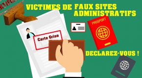 FAUX SITES ADMINISTRATIFS